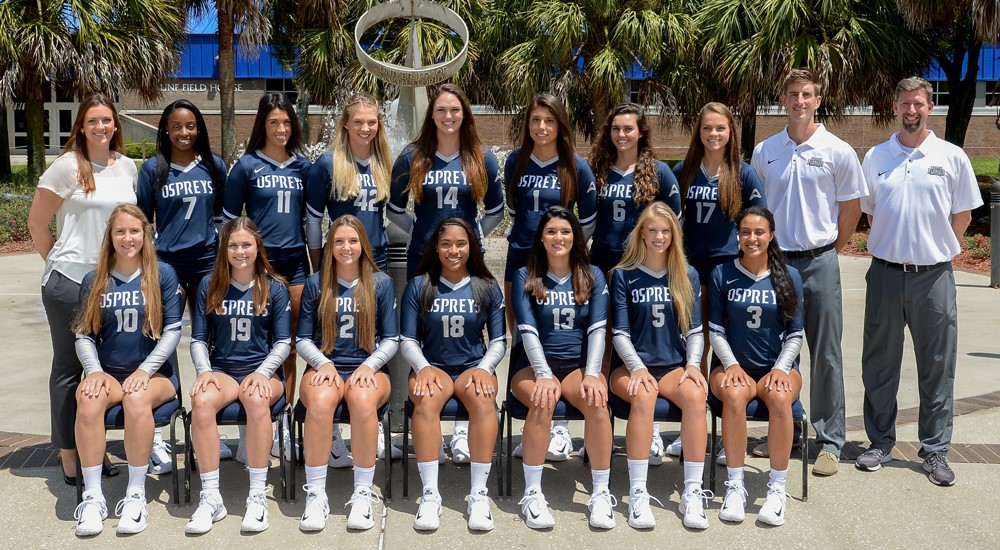 2017 Volleyball Roster University Of North Florida Athletics